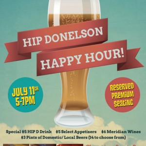 Happy Hour Table Tent